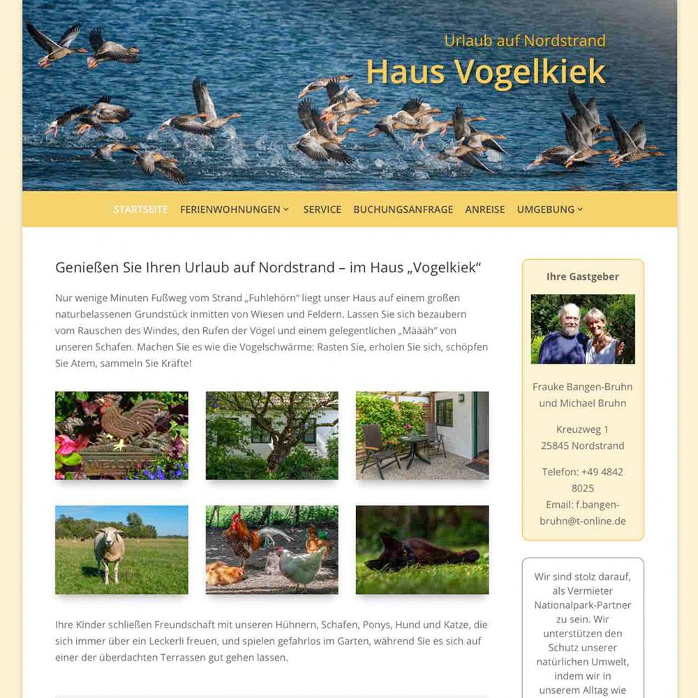 Referenz - Haus Vogelkiek